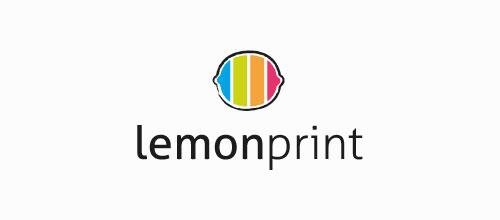 lemon print logo