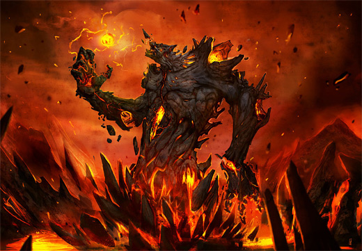 Power fire colossus rift video game