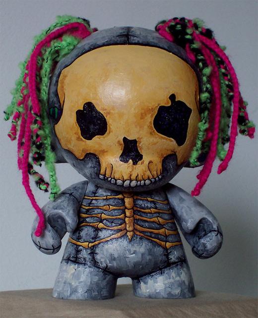Skeleton ultimate vinyl toys design collection