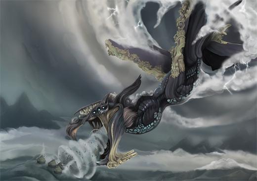 Wind dragon air colossus rift video game