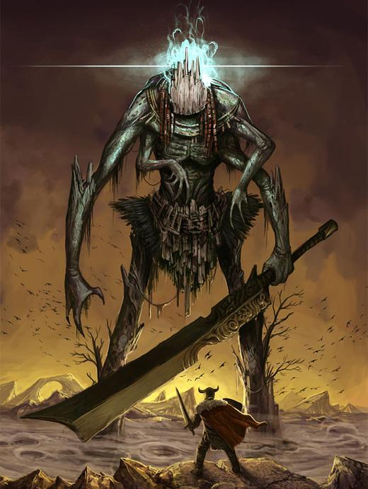 Giant sword rift