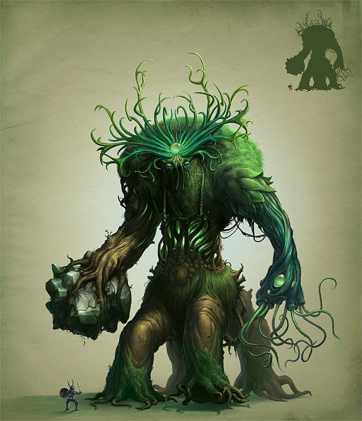 Tree stone monster life colossus rift game