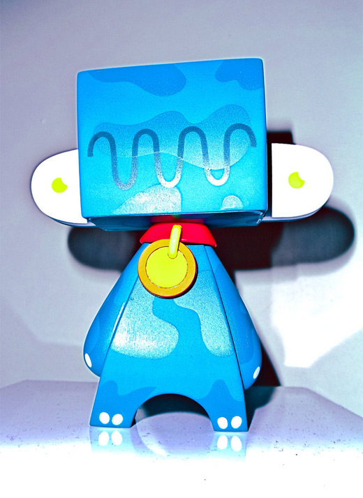 Blue madl mad vinyl toy
