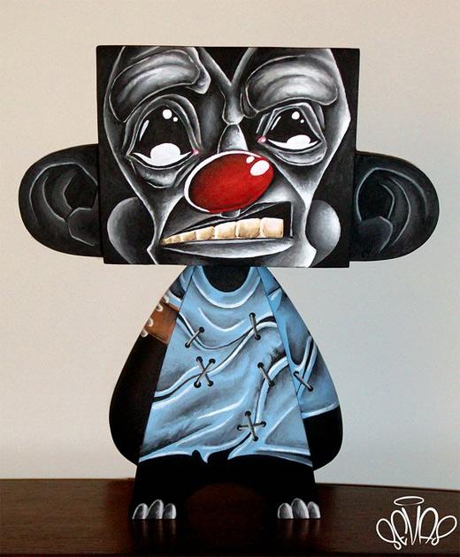 Wacko gorilla madl mad vinyl toy