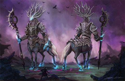 Dark centaur rift