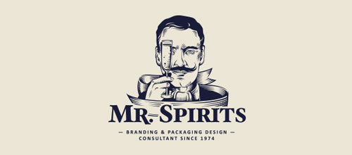 Mr Spirits logo