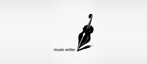 music writer logo