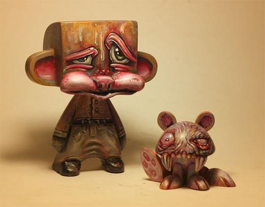 Zombie madl mad vinyl toy