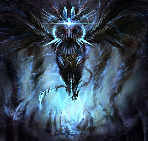 Lightning air colossus rift video game