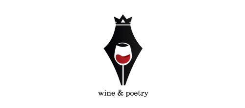 wine & poetry logo