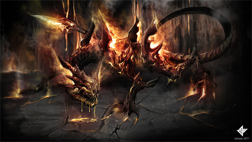 Dragon fire colossus rift video game