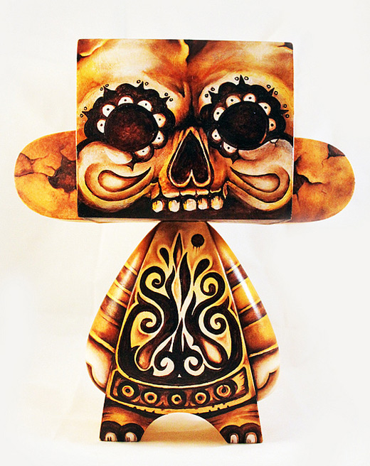 Tribal madl mad vinyl toy