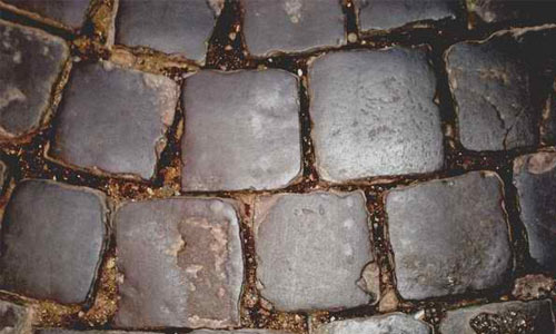 Roman road texture