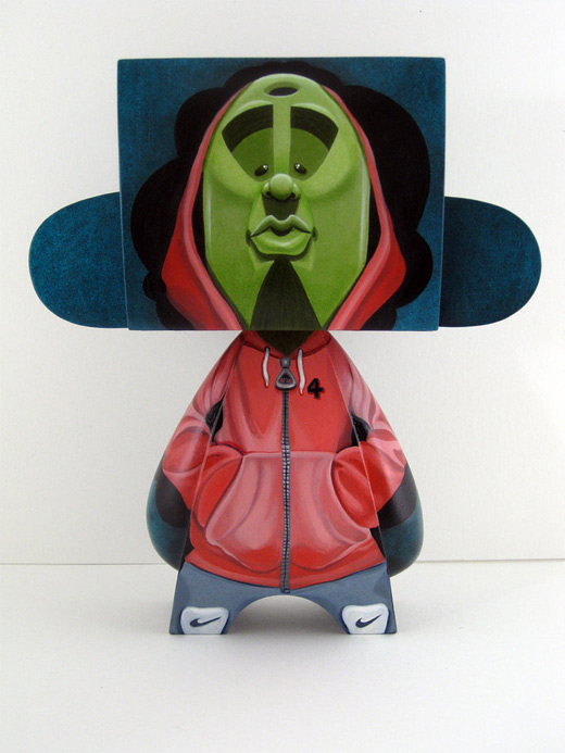 Hipster hiphop madl mad vinyl toy