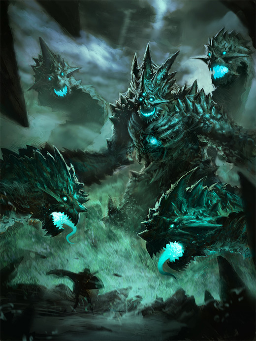 Monster dragon water colossus rift video game