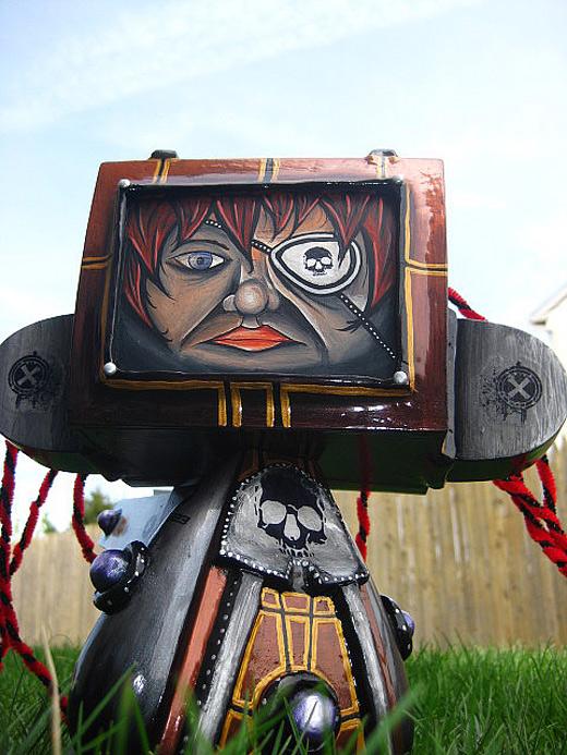 Robot girl madl mad vinyl toy