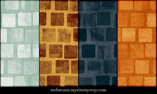 Grungy Abstract Squares Photoshop Patterns