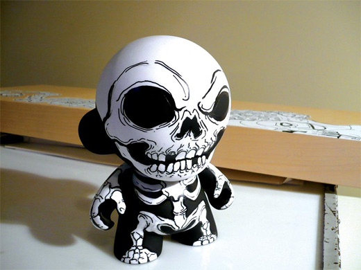 Bones skeleton ultimate vinyl toys design collection
