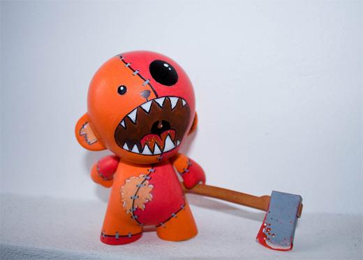 Monster killer ultimate vinyl toys design collection