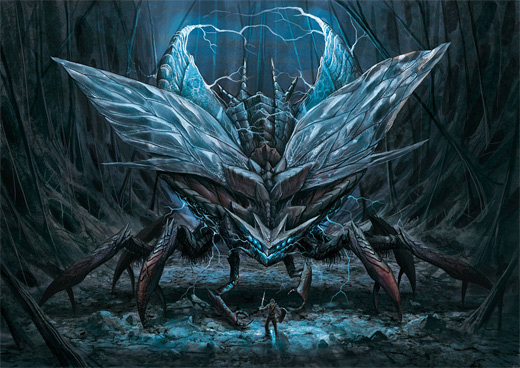Bug insect monster air colossus rift video game