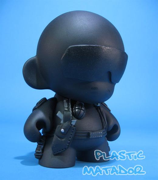 Black ninja ultimate vinyl toys design collection