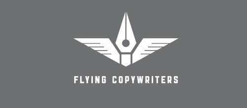 Flying copywriters logo