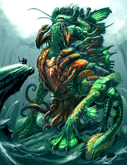 Frog water colossus rift video game
