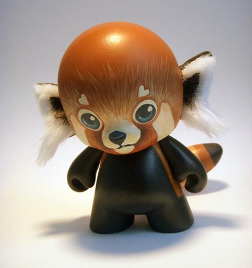 Panda ninja ultimate vinyl toys design collection