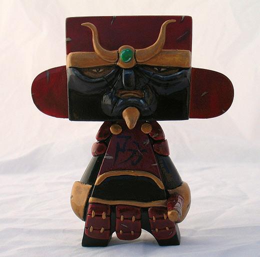 Samurai red madl mad vinyl toy