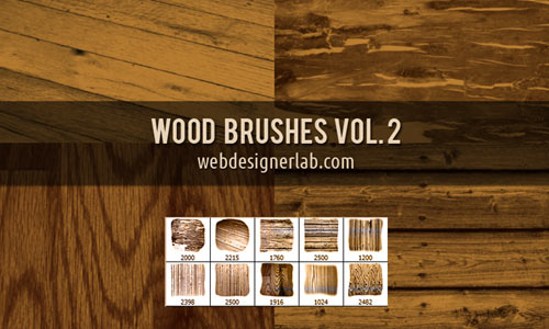 Wood Brushes Vol. 2