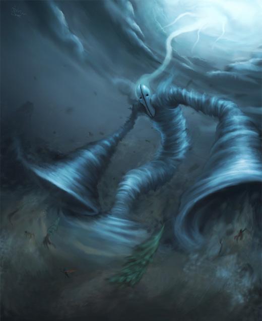 Tornado air colossus rift video game