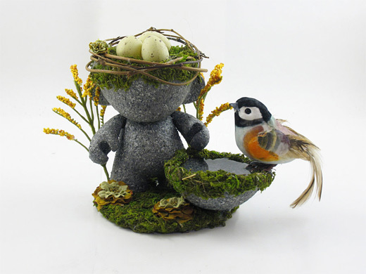 Nest bird egg ultimate vinyl toys design collection