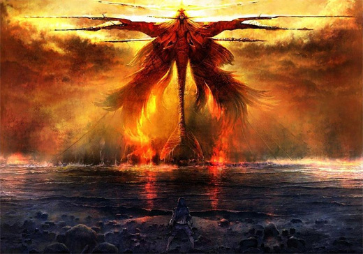 Angel fire colossus rift video game