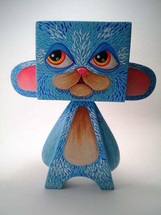 Bear madl mad vinyl toy
