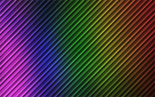 RainbowFlorecent Stripes wallpaper