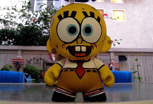 Spongebob ultimate vinyl toys design collection