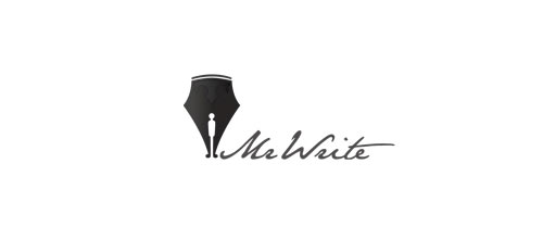 Mr write logo
