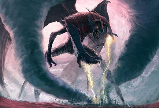 Dragon tornado lightning air colossus rift video game