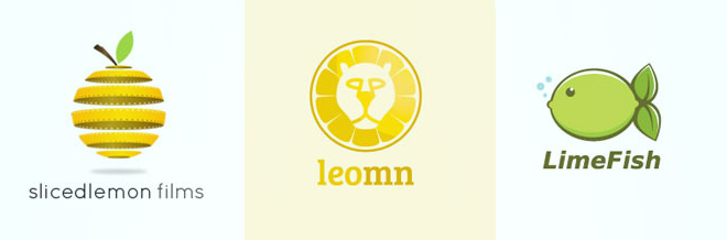 A Collection of Clever Designs of Lemon Logo