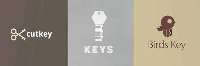 25 Simple Yet Strong Key Logo Designs