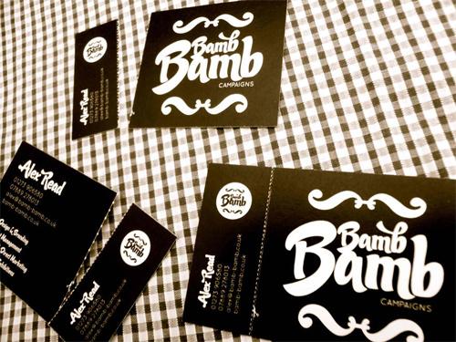 Bamb Bamb business card
