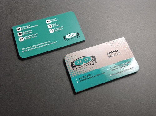 Business Card for: Edge Fitness