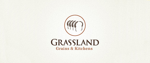 Grains bread logo designs collection