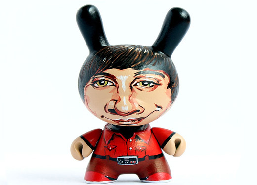 Howard portrait dunny vinyl toys design
