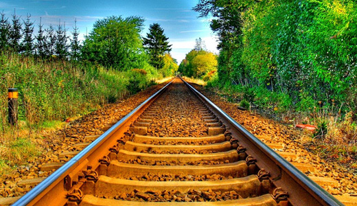 Orange rusty railroad free download wallpapers