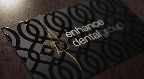 Enhance Dental Group Business Card