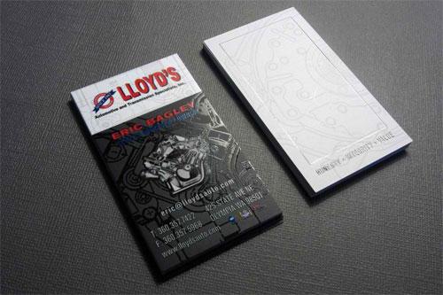 Lloyd's Automotiv Business Card