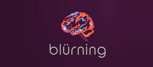 blurning logo