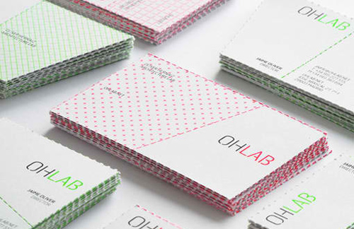 Perforated Business Cards