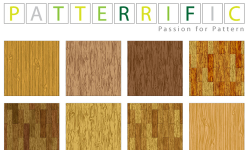 Seamless Vector Patterns Vector Wood